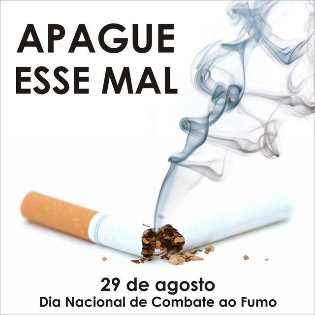 Dia Nacional do Combate ao Fumo alerta a população para os riscos do tabagismo